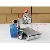 Wholesale 1.5KW Spindle Mini CNC Router Table Top , Z Axis CNC Router Machine from china suppliers