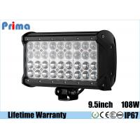 Wholesale 9.5 108W Four Rows Led Cree Offroad Lights 12V 24V Jeep Bars from china suppliers