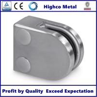 Buy cheap Stainless Steel D shape Flat Glass Clamps 40x50mm Fit 6-8mm Glass for Glass from wholesalers