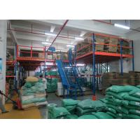 Wholesale High Density Mezzanine Floors Racking , Industrial Mezzanine Systems For Auto Parts Industry from china suppliers