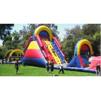 Wholesale Climb Adult Inflatable Obstacle Course Durable PVC Tarpaulin For Fun from china suppliers