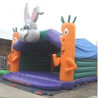 Wholesale Rabit Head Kids Large Bouncy Castle Funny 7.7m x 7.2m x 5.96m from china suppliers