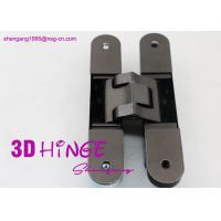 Wholesale Concealed Invisible Door Hinges Satin Nickel Finish For Heavy Internal Doors from china suppliers