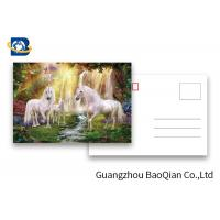 Wholesale Full Color Animated Postcards , Two Sides Custom Lenticular Printing 0.6 MM PET from china suppliers