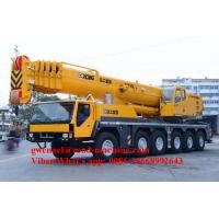 Wholesale 160Ton Diesel Telescopic Boom Crane QAY160 in Yellow , Truck Mounted Crane from china suppliers