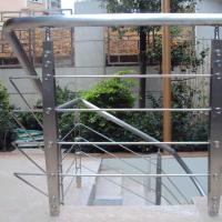 Wholesale Best Quality s.s Solid Rod Bar Railing Price / Balcony Stainless Steel Rod Bar Railing Design from china suppliers