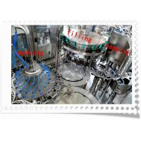 China PLC Control Beverage / Carbonated Drink Filling Machine Electric Driven 380V 50HZ on sale