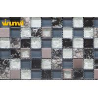 Wholesale Interior Colourful Kitchen Mosaic Tiles Broken Glass Type For Floor / Wall from china suppliers
