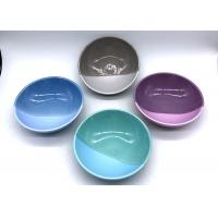 Wholesale 2 Tone Color Candy Salad Bowl Ceramic Houseware Set Of 4 Customized Color And Shaped from china suppliers