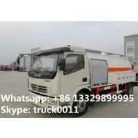 Buy cheap 5500L capacity 2.3 ton 4*2 DONGFENG right hand drive mini lpg dispensing truck for sale, lpg dispensing truck for sale from Wholesalers