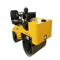 Wholesale ZM-70C Steering Ride on Double Cylinder Road Roller Machine from china suppliers