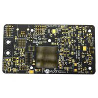 Wholesale High TG Black Soldermask Prototype Multi Layer Pcb Laser Drill Communicate Electronics Board from china suppliers