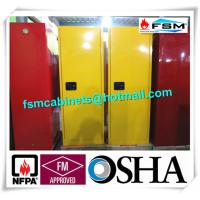 Wholesale Fireproof Industrial Safety Cabinets , Chemical Storage Cupboards For Flammables from china suppliers