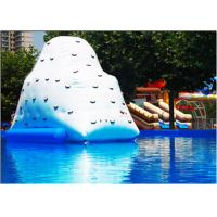 Wholesale Outdoor Inflatable Water Toys Inflatable Pool Iceberg Floating Climbing Wall from china suppliers