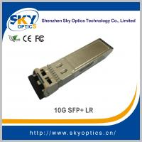China 10g sfp+ LR 10Gb/s compatible sfp 1310nm 10km reach SMF module on sale