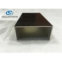 Wholesale Champagne Anodized Aluminium Extrusion  Profiles With Maximum 6.8 Meters from china suppliers