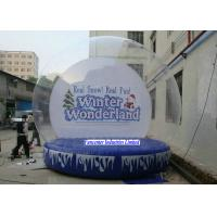 Wholesale Winter Wonderland Inflatable Snow Globe Large Diameter For Huge Containing Spaces from china suppliers