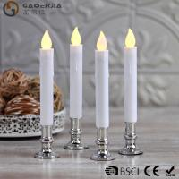 Wholesale TL-006 Battery Operated Taper Candles With Timer Golde Silver Color from china suppliers