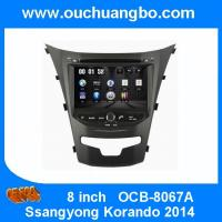 """Wholesale Ouchuangbo 8""""Touch Screen DVD Radio Player Ssangyong Korando 2014 GPS Navi Bluetooth iPod SD USB SWC OCB-8067A from china suppliers"""