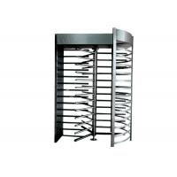 Wholesale IP44 Security Revolving Doors , Full Height Turnstile Gates 304 Or 316 Stainless Steel from china suppliers