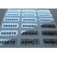 Wholesale Self Adhesive Security Sticker Labels Scratch Off Custom Printing from china suppliers