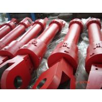 Wholesale Red Single Acting Hydraulic Ram Lifting Hydraulic Cylinder For Furnace from china suppliers