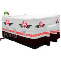 Wholesale 210D PVC Fabric Square Inflatable Wedding Party Event Size 15 * 10m from china suppliers