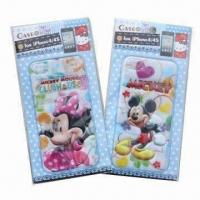 Wholesale 3-D Puffy and Foam Stickers for iPhone, Mickey and Minnie, Customized Designs are Accepted from china suppliers