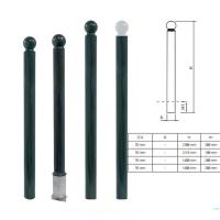 Wholesale Powder Coating Parking Bollards Cast Iron Traffic Decorative Cast Iron Posts from china suppliers