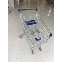 Wholesale Supermarket Grocery Shopping Cart With Zinc plating clear powder coating from china suppliers
