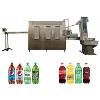 Buy cheap Automatic Carbonated Drink Filling Machine , Soft Drink Making Machine from wholesalers