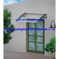 Wholesale DIY awning, polycarbonate awning, door canopy, pc awning, window awning, roof canopy, awning canopy from china suppliers