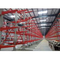 Wholesale Detachable Cantilever Pipe Rack , Industrial Metal Storage Racks With Corrosion Protection from china suppliers