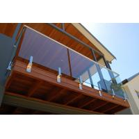 Wholesale Balcony railing balcony balustrade glass railing from china suppliers