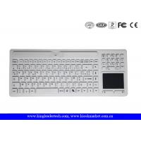 Buy cheap Logo Customizable Wireless Waterproof Keyboard with Touchpad and Numpad for Medical Using from wholesalers