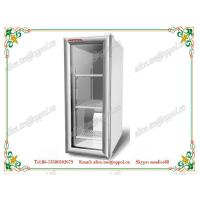 China OP-124 Medical Laboratory Upright Glass Door Freezer , Hospital Lab Refrigerator on sale