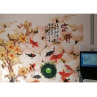 Wholesale Computer Control CMYK Vertical Direct Wall Inkjet Printer CCC from china suppliers