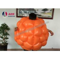 China Mini Inflatable Ball Game Inflatable Bubble Soccer Ball For Kids 0.8mm Transparent pvc on sale