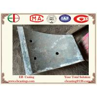 Wholesale Custom-made Nickel Hard White Iron Wear Arc Plates with irregular Shape ASTM A532 ClassⅡ T from china suppliers