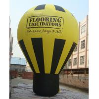 Quality PVC Tarpaulin Inflatable Balloon , Inflatable Ground Balloon for Advertising for sale
