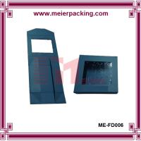 Wholesale Custom cardboard paper folding box with PVC window ME-FD006 from china suppliers