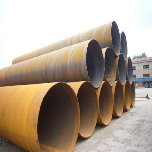 Large diameter seamless thin wall steel pipe of item