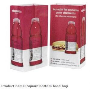 Wholesale Grocery Bag, Tea bags,  Square food paper bag,  Snack bags,  Pie packing bag,  Kraft paper food bag,  Kraft packing bags from china suppliers