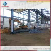 Wholesale SHOWHOO Prefabricated Space Frame Metal Shed Build Steel Structure Factory Building from china suppliers