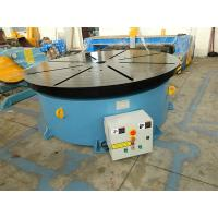 China Horizontal Welding Motorized Rotary Table Positioner 10 T for 1400 mm Table Diameter on sale