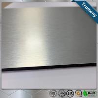 Buy cheap Custom Color Stainless Steel Composite Panel Brushed Fireproof A2 Core from wholesalers