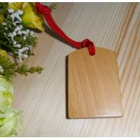 Wholesale wood name tag wood gift tag beech wood hanging tags from china suppliers