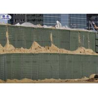 China Earth Sand Filled Sand Filled Barriers Gabion Box For Flood Barrier for sale