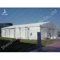 Wholesale Rustless Hard Aluminum Structure Garden Party Canopy Tents White PVC Fabric from china suppliers
