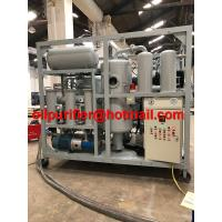 Buy cheap Double Stage Vacuum Transformer insulation Oil Purifier Recycling Regeneration from wholesalers
